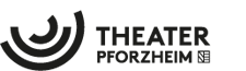 Logo Theater Pforzheim schwarz weiss