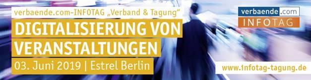 Verbände.com INFO-Tag in Berlin am 3. Juni 2019